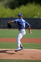 Yaisel Sierra - Los Angeles Dodgers 2016 spring training (Bill Mitchell)