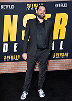"""LOS ANGELES, CA: 27, 2020: Kip Weeks at the world premiere of """"Spenser Confidential"""" at the Regency Village Theatre.<br /> Picture: Paul Smith/Featureflash"""