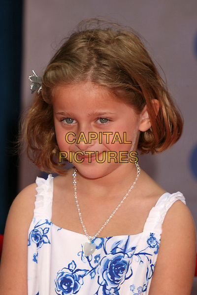 "MIKAILA BAUMEL .""Meet The Robinsons"" Los Angeles Premiere at the El Capitan Theatre, Hollywood, California, USA..March 25th, 2007.headshot portrait .CAP/ADM/BP.©Byron Purvis/AdMedia/Capital Pictures"