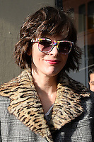 www.acepixs.com<br /> January 26, 2017 New York City<br /> <br /> Milla Jovovich stops by AOL Build on January 26, 2017 in New York City.<br /> <br /> Credit: Kristin Callahan/ACE Pictures<br /> <br /> <br /> Tel: 646 769 0430<br /> e-mail: info@acepixs.com