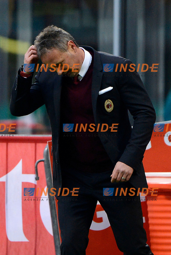 Delusione Sinisa Mihajlovic Milan<br /> Milano 6-01-2016 Stadio Giuseppe Meazza - Football Calcio Serie A Milan - Bologna. Foto Giuseppe Celeste / Insidefoto