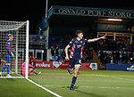 11.02.2019: Ross County v Inverness CT: Ross Stewart scores for Ross County and celebrates