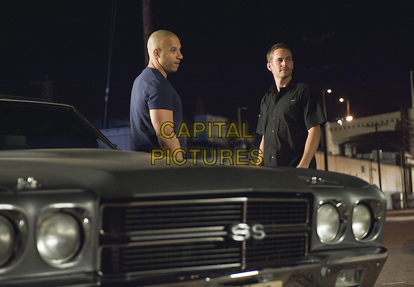 Vin Diesel, Paul Walker<br /> in The Fast and the Furious (2001) <br /> *Filmstill - Editorial Use Only*<br /> CAP/FB<br /> Image supplied by Capital Pictures