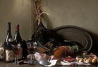 Europe/France/Centre/Indre-et-Loire: Coq au vin de Touraine- Ingredients