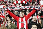 Athletic de Bilbao's supporters during La Liga match. January 30,2016. (ALTERPHOTOS/Acero)