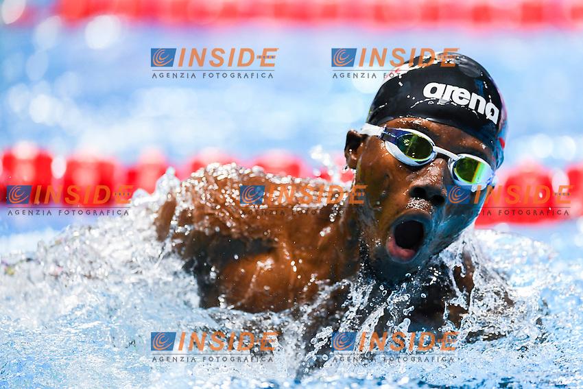 JOBE Jegan Y GAM<br /> Men's 100m Breaststroke<br /> 13th Fina World Swimming Championships 25m <br /> Windsor  Dec. 6th, 2016 - Day01<br /> WFCU Centre - Windsor Ontario Canada CAN <br /> 20161206 WFCU Centre - Windsor Ontario Canada CAN <br /> Photo &copy; Giorgio Scala/Deepbluemedia/Insidefoto