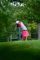 Mi Hyang Lee (KOR) watches her tee shot on 16 during Saturday's round 3 of the 2017 KPMG Women's PGA Championship, at Olympia Fields Country Club, Olympia Fields, Illinois. 7/1/2017.<br /> Picture: Golffile | Ken Murray<br /> <br /> <br /> All photo usage must carry mandatory copyright credit (&copy; Golffile | Ken Murray)