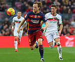 09.01.2016 Camp Nou, Barcelona, Spain. La Liga day 19 march between FC Barcelona and Granada. Rakitic run behind the ball