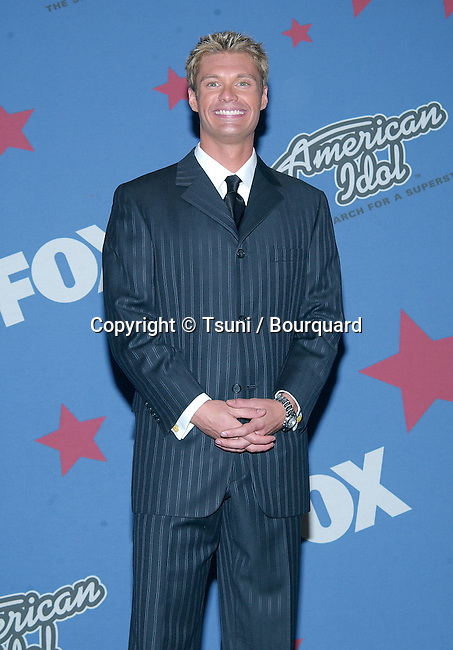 Ryan Seaquest backstage at the American Idol Grand Finale Part One at the Kodak Theatre in Los Angeles. September 3, 2002.           -            SeaquestRyan01.jpg