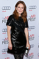 HOLLYWOOD, LOS ANGELES, CA, USA - NOVEMBER 12: Julianne Moore arrives at the AFI FEST 2014 - 'Still Alice' Special Screening held at the Dolby Theatre on November 12, 2014 in Hollywood, Los Angeles, California, United States. (Photo by Xavier Collin/Celebrity Monitor)