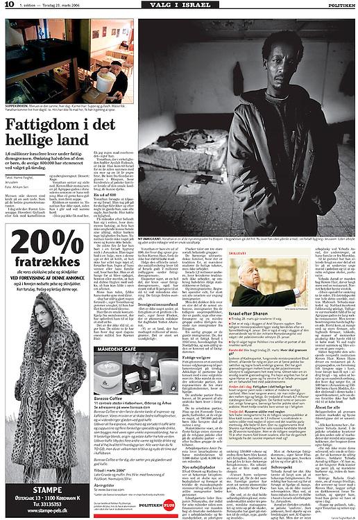 Politiken, Denmark - March 23, 2006