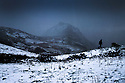 08/12/14<br /> <br /> Snow falls on Chrome Hill, in the Derbyshire Peak District,<br /> <br /> ***ANY UK EDITORIAL PRINT USE WILL ATTRACT A MINIMUM FEE OF &pound;130. THIS IS STRICTLY A MINIMUM. USUAL SPACE-RATES WILL APPLY TO IMAGES THAT WOULD NORMALLY ATTRACT A HIGHER FEE . PRICE FOR WEB USE WILL BE NEGOTIATED SEPARATELY***<br /> <br /> <br /> All Rights Reserved - F Stop Press. www.fstoppress.com. Tel: +44 (0)1335 300098