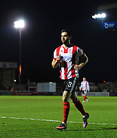 Lincoln City's Sam Habergham<br /> <br /> Photographer Chris Vaughan/CameraSport<br /> <br /> Vanarama National League - Lincoln City v Chester - Tuesday 11th April 2017 - Sincil Bank - Lincoln<br /> <br /> World Copyright &copy; 2017 CameraSport. All rights reserved. 43 Linden Ave. Countesthorpe. Leicester. England. LE8 5PG - Tel: +44 (0) 116 277 4147 - admin@camerasport.com - www.camerasport.com