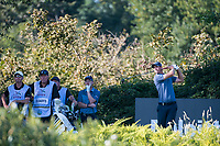 Nicolas Colsaerts (BEL) in action on the 13th hole during the second round of the 76 Open D'Italia, Olgiata Golf Club, Rome, Rome, Italy. 11/10/19.<br /> Picture Stefano Di Maria / Golffile.ie<br /> <br /> All photo usage must carry mandatory copyright credit (© Golffile | Stefano Di Maria)