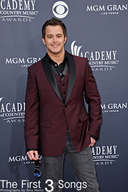 Easton Corbin attends the 46th Annual Academy of Country Music Awards in Las Vegas, Nevada on April 3, 2011.