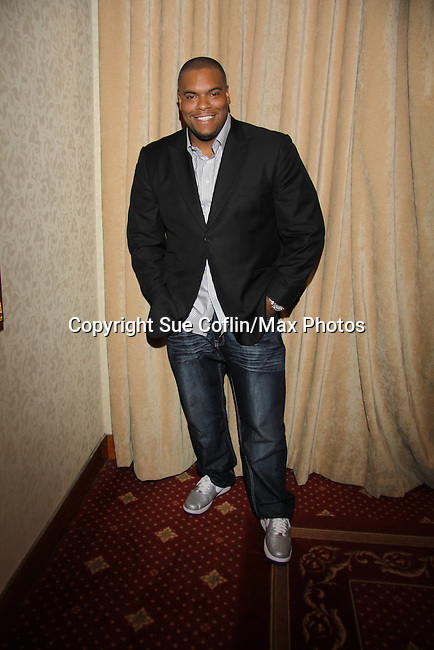 Sean Ringgold at The One Life To Live Lucheon at the Hemsley Hotel in New York City, New York on October 9, 2010. (Photo by Sue Coflin/Max Photos)