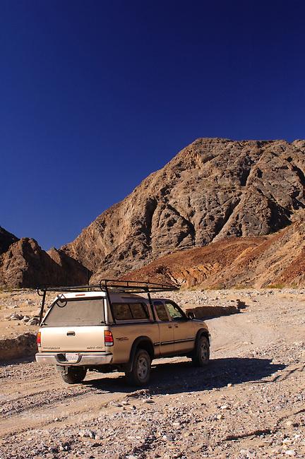 Exploring Cottonwood Canyon, Death Valley National Park, California