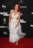 """Los Angeles, CA - NOVEMBER 22: Sharna Burgess, At ABC's """"Dancing With The Stars"""" Season 23 Finale At The Grove, California on November 22, 2016. Credit: Faye Sadou/MediaPunch"""
