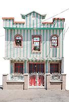 Free Architecture, Los Reyes Metzontla, Tehuacan, Puebla, Mexico