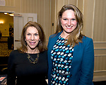 SOUTHBURY, CT-012318JS18--Mary Rosengrant-Chiappalone and State Representative Stephanie Cummings (R-74), at the Waterbury Regional Chamber's Legislative and Economic Summit held at the Wyndham Southbury. <br /> Jim Shannon Republican-American