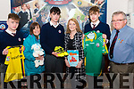 St Brendan's College Fayre Day Launch.<br /> Picture l-r Jack Enright, Eileesh Mayers, Keelin Deegan, Noreen Ahern, Cian McCarthy and Jim O'Biren.