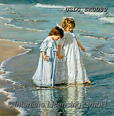 CHILDREN, KINDER, NIÑOS, paintings+++++,USLGSK0089,#K#, EVERYDAY ,Sandra Kock, victorian