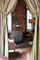 Detail of a bedroom at Palazzetto Pisani Ferri in Venice