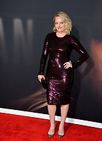 """LOS ANGELES, CA: 24, 2020: Elisabeth Moss at the premiere of """"The Invisible Man"""" at the TCL Chinese Theatre.<br /> Picture: Paul Smith/Featureflash"""