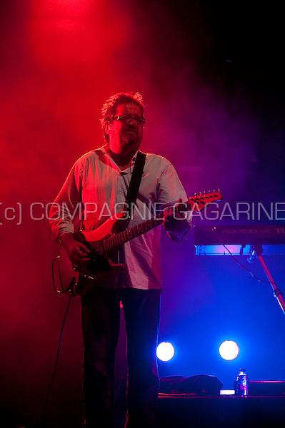 Belgian pop band Clouseau, headliner of the last day of the Casa Blanca festival in Hemiksem (Belgium, 08/08/2009)