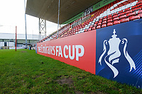 General view of the ground ahead of Woking vs Watford, Emirates FA Cup Football at The Laithwaite Community Stadium on 6th January 2019