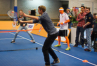 21-12-13,Netherlands, Rotterdam,  Topsportcentrum, Tennis Masters, 60 secconds<br /> Photo: Henk Koster