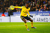 9th November 2019; King Power Stadium, Leicester, Midlands, England; English Premier League Football, Leicester City versus Arsenal; Nicolas Pepe of Arsenal - Strictly Editorial Use Only. No use with unauthorized audio, video, data, fixture lists, club/league logos or 'live' services. Online in-match use limited to 120 images, no video emulation. No use in betting, games or single club/league/player publications