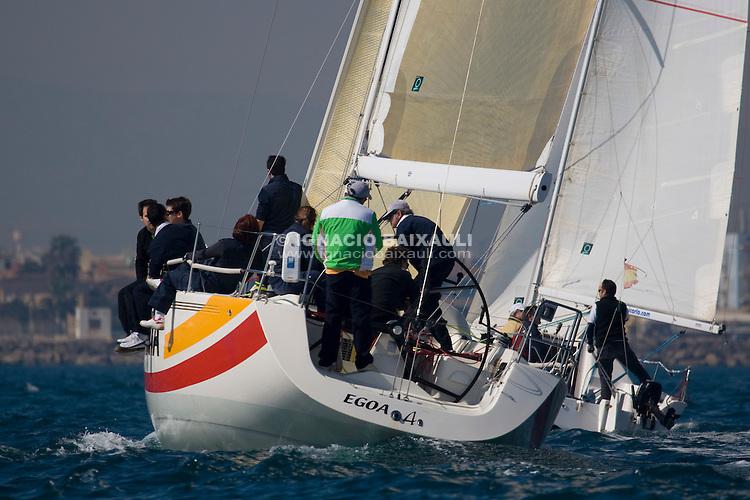 GRESPANIA - EGOA IV. CLUB. RCN CASTELLON. VELA. ESP 6316. ARMADOR. LUIS HERNANDEZ SANCHIS - 61 Trofeo Magdalena - Cruceros - Real Club Náutico de Castellón - 1-2/3/2008 - Castellón, España