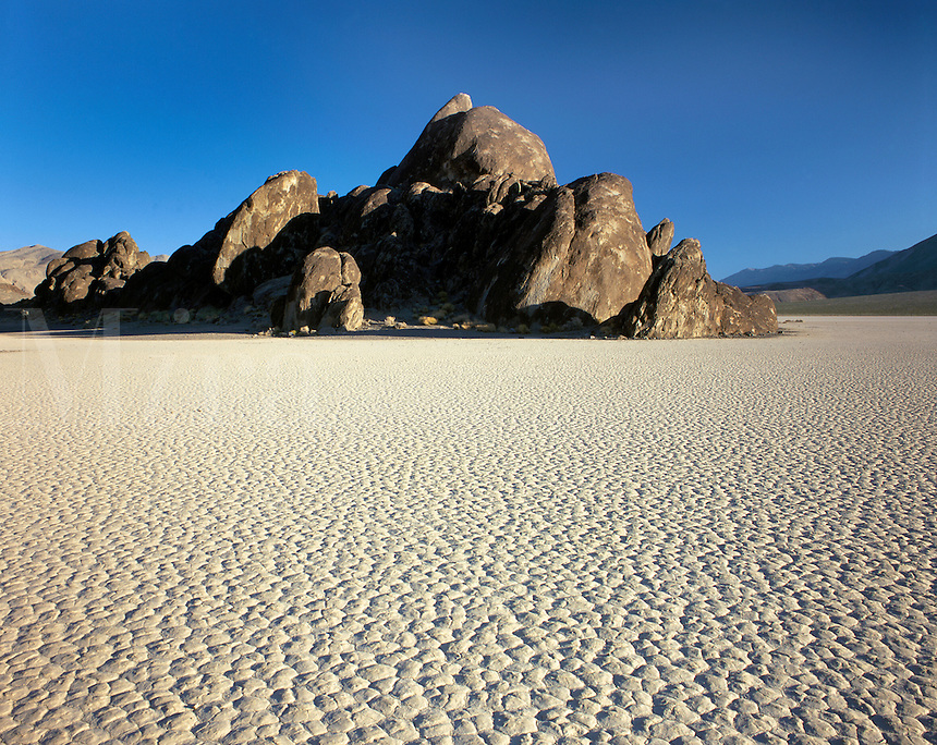 "The ""RACE TRACK"" - DEATH VALLEY, CALIFORNIA"