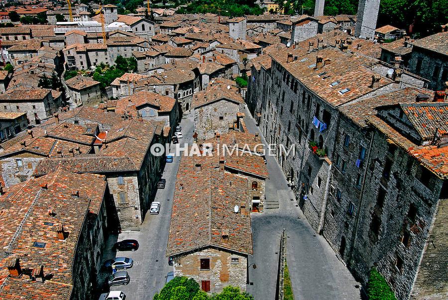 Cidade de Gubbio. Umbria. Itália. 2006. Foto de Luciana Whitaker.