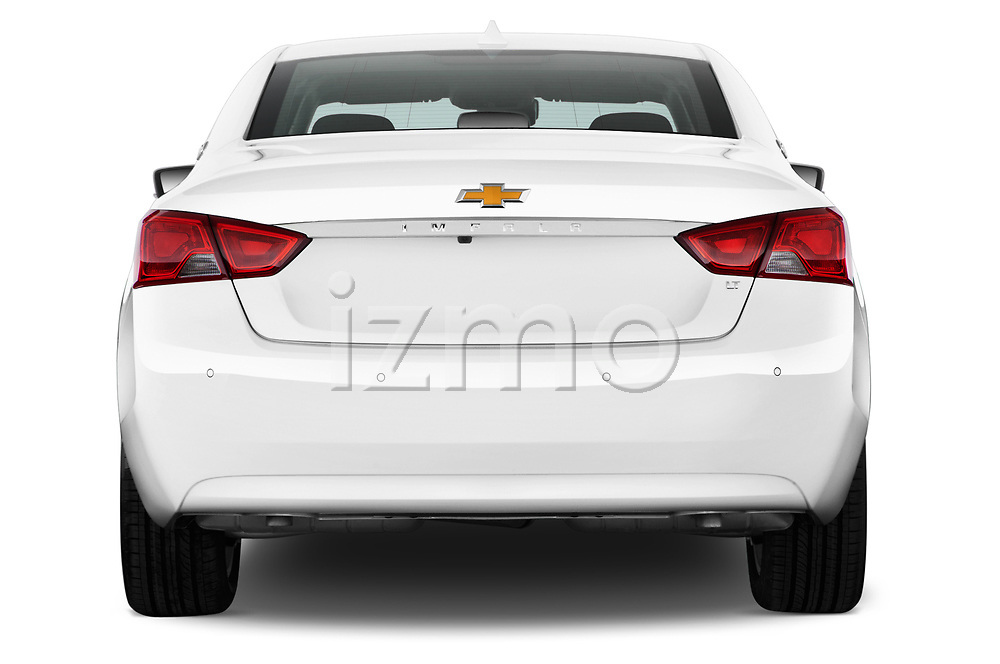 Straight rear view of a 2014 Chevrolet Impala 2 LT2014 Chevrolet Impala 2 LT