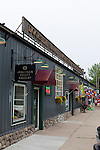 Dockside Market Place, shopping, art galleries and restaurants, Saugatuck, Michigan, USA