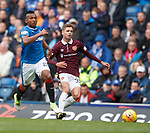 Jamie Brandon (R) and Alfredo Morelos