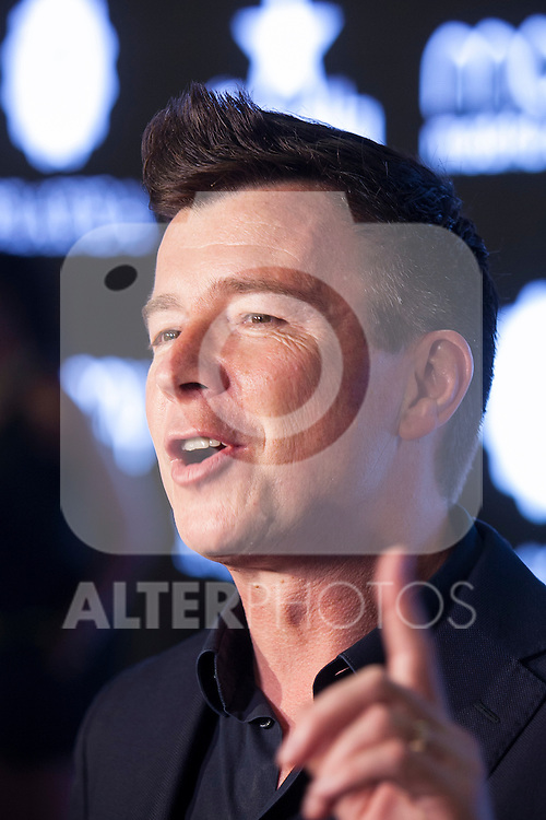 Singer Rick Astley attends Madrid Orgullo celebration in Madrid, Spain. July 01, 2015. (ALTERPHOTOS/Victor Blanco)