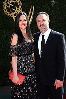 PASADENA - APR 30: David Arquette, Christina McLarty at the 44th Daytime Emmy Awards at the Pasadena Civic Center on April 30, 2017 in Pasadena, California
