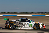 2017 IMSA WeatherTech SportsCar Championship<br /> Mobil 1 Twelve Hours of Sebring<br /> Sebring International Raceway, Sebring, FL USA<br /> Saturday 18 March 2017<br /> 93, Acura, Acura NSX, GTD, Andy Lally, Katherine Legge, Mark Wilkins<br /> World Copyright: Jake Galstad/LAT Images<br /> ref: Digital Image lat-galstad-SIR-0317-14458