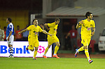St Johnstone v Eskisehirspor....18.07.12  Uefa Cup Qualifyer.Potuk Alper celebrates his goal.Picture by Graeme Hart..Copyright Perthshire Picture Agency.Tel: 01738 623350  Mobile: 07990 594431