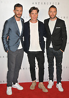 Jamie Dornan, Cillian Murphy, Sean Ellis at the &quot;Anthropoid&quot; UK film premiere, BFI Southbank, Belvedere Road, London, England, UK, on Tuesday 30 August 2016.<br /> CAP/CAN<br /> &copy;CAN/Capital Pictures /MediaPunch ***NORTH AND SOUTH AMERICAS ONLY***