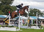 Stamford, Lincolnshire, United Kingdom, 8th September 2019, Michael Owen (GB) & Bradeley Law during the Show Jumping Phase on Day 4 of the 2019 Land Rover Burghley Horse Trials, Credit: Jonathan Clarke/JPC Images