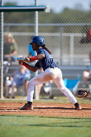 Julius Wynn Jr during the WWBA World Championship at the Roger Dean Complex on October 20, 2018 in Jupiter, Florida.  Julius Wynn Jr.  (Mike Janes/Four Seam Images)