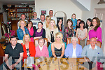 21 wishes.---------.Rachel Bowler,Shanakil,Tralee(seated centre)celebrated her 21st birthday in her own town last Saturday evening at Bella Bia restaurant,Ivy Terrace with many family and friends..