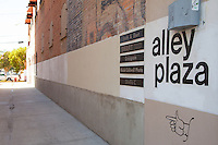 Alley Plaza in Old Towne Orange California