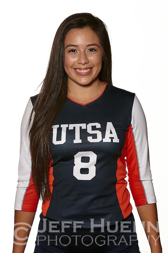 SAN ANTONIO, TX - JULY 22, 2015: UTSA Volleyball Team & Individual photos at the UTSA Convocation Center. (Photo by Jeff Huehn)