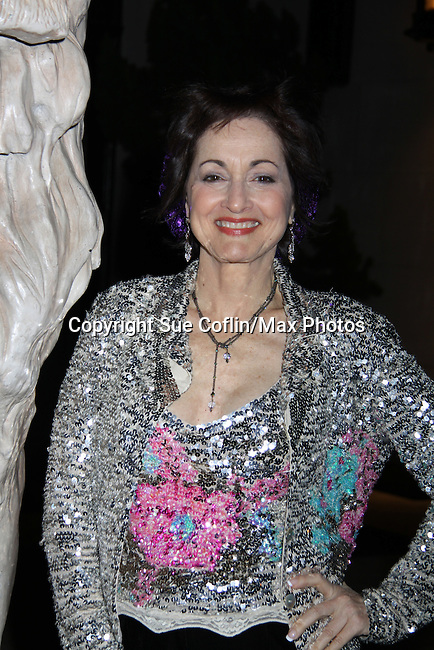 Robin Strasser at the One Life To Live 2010 Holiday Party was celebrated on December 21, 2010 at Capitale, New York City, New York. (Photo by Sue Coflin/Max Photos)