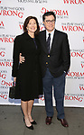 Evelyn McGee-Colbert and Stephen Colbert attends 'The Play That Goes Wrong' Broadway Opening Night at the Lyceum Theatre on April 2, 2017 in New York City.